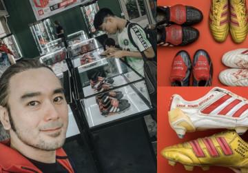 Kisah Pria Thailand Kolektor Sepatu David Beckham Terbesar di Dunia