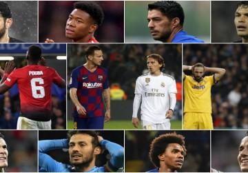 Daftar Bintang Besar Eropa yang Kontraknya Selesai 2021