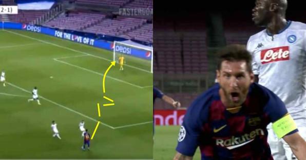 Ekspresi Selebrasi Ini Gambarkan Betapa Cantik Gol Messi