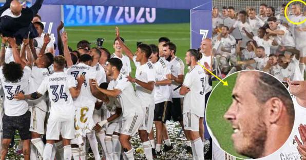 Selebrasi Juara Real Madrid, Tingkah Gareth Bale Jadi Sorotan