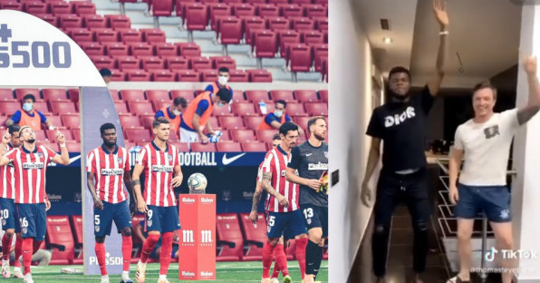 Gelandang Ini Dansa Saat 1 dari 2 Positif Corona di Atletico Adalah Pemain