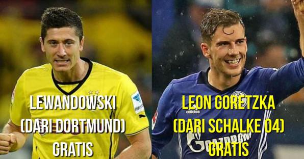 Ini 12 Pemain yang Disabet Bayern Muenchen dari Klub Rival