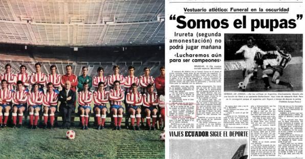 Kisah Kutukan El Pupas Atletico Madrid di Liga Champions Selama 46 Tahun
