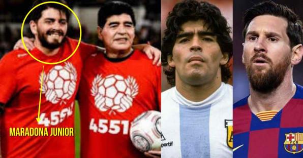 Maradona Junior soal Ayahnya vs Messi: Manusia Tak Bisa Dibandingkan Alien