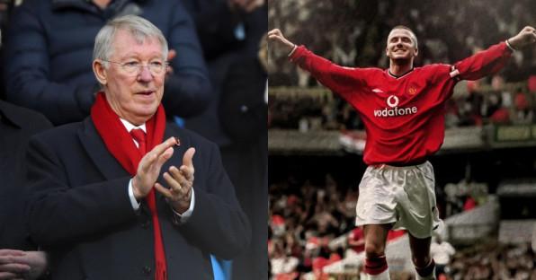 Kisah Di Balik Sepatu Terbang Sir Alex Ferguson ke Kepala David Beckham