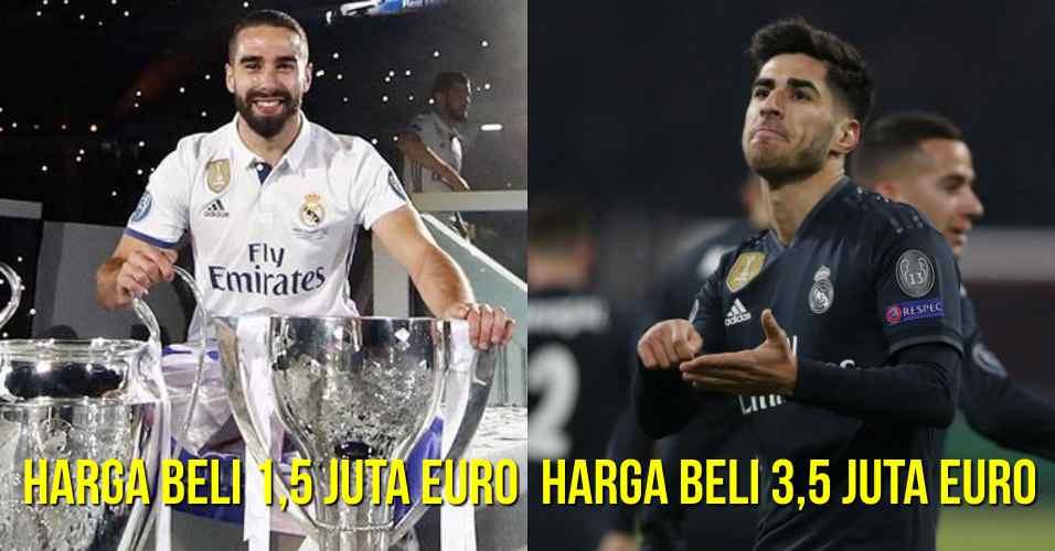 8 Pemain Real Madrid, Harga Murah Tapi Kontribusi Besar